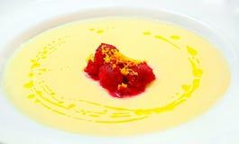 Dubarry-Suppe das vegetarische Mittagessen lizenzfreies stockbild
