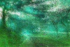 Dubbel bakgrund för abstrakt begrepp för grunge för färgbristning idérik abstrakt Fotografering för Bildbyråer