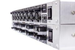 Dubbel buss Mic Line Zone Mixer för kanal 3 för ULTRAZONE 8 Arkivbild