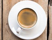 dubbel espresso Arkivbild