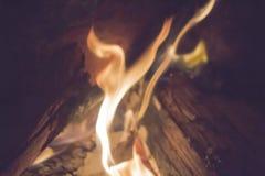 Dubbel flamma Arkivfoto
