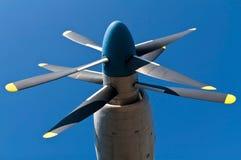 Flygplanpropeller Royaltyfria Bilder