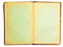 dubbel gammal sida för bok Royaltyfri Fotografi
