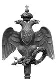 Dubbel-geleide adelaar Royalty-vrije Stock Foto