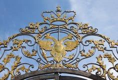 Dubbel-geleide adelaar Stock Afbeeldingen