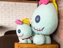 Dubbel Gevuld stuk speelgoed Stock Afbeeldingen