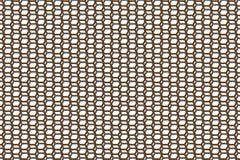 Dubbel Hexagonaal Patroon royalty-vrije illustratie
