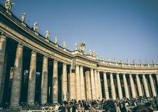 Dubbel kolonnad för klassiker arkivfoton