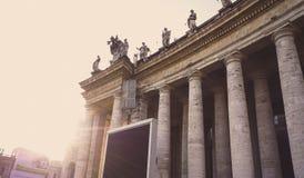 Dubbel kolonnad för klassiker royaltyfri bild