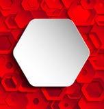 Dubbel mall för färgabstrakt begrepppapper Arkivfoto