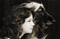 Dubbel portret Royalty-vrije Stock Foto