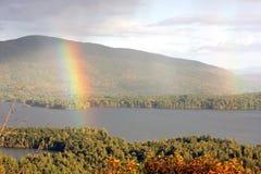dubbel regnbåge Royaltyfri Foto