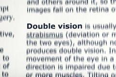 dubbel vision Royaltyfri Bild