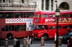 Dubbeldäckarebuss Arkivbilder