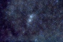 Dubbele Cluster in Perseus Royalty-vrije Stock Fotografie