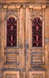 Dubbele deur Stock Afbeeldingen