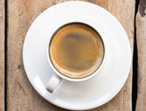 Dubbele Espresso Stock Fotografie