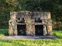 Dubbele grill Royalty-vrije Stock Foto's