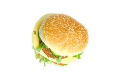Dubbele hamburger Stock Foto