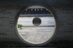 Dubbele Maanpoort Royalty-vrije Stock Afbeelding