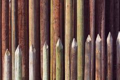 Dubbele palissade Stock Fotografie