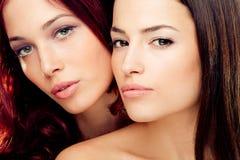 Dubbele schoonheid Stock Afbeelding