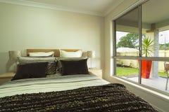 Dubbele slaapkamer royalty-vrije stock foto's