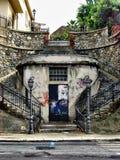 Dubbele trap in zuidelijk Italië Royalty-vrije Stock Foto's