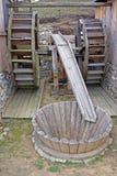 Dubbele watermill Stock Fotografie