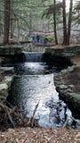 Dubbele waterval Stock Afbeeldingen