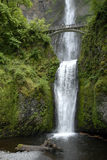 Dubbele waterval Royalty-vrije Stock Afbeeldingen