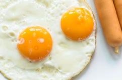 dubbelt ägg Royaltyfria Bilder