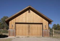 Dubbelt garage Arkivfoto