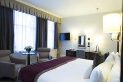 dubbelt hotellrum Royaltyfri Fotografi