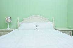 dubbelt modernt för sovrum Royaltyfri Fotografi