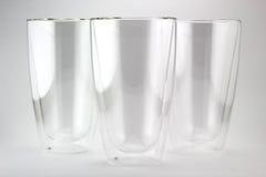 Dubbelt väggexponeringsglas Royaltyfri Fotografi
