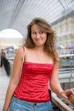 Dubbio della donna fotografie stock libere da diritti