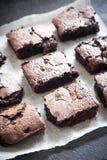 Dubbla chokladnissen Arkivbild
