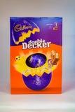 Dubbla Decker Easter Egg Royaltyfria Bilder