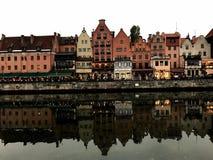 Dubbla Gdansk Arkivbilder