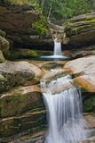 dubbla vattenfall royaltyfria bilder