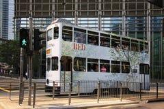 Dubblett-däck buss Royaltyfri Fotografi