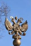 Dubblett-hövdad örn (Ryssland) Arkivfoto