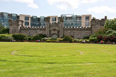 Dubh Linn Garden, Dublin Castle, Dublin, Ireland Royalty Free Stock Photos