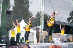 Dubiosa Kolektiv from bosnia Royalty Free Stock Images