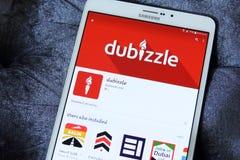 Dubizzle app Στοκ Φωτογραφίες
