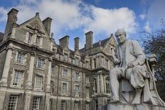 DUBLÍN - 12 DE ENERO: Universidad de la trinidad el 12 de enero de 2015, Dublín Foto de archivo