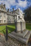 DUBLÍN - 12 DE ENERO: Universidad de la trinidad el 12 de enero de 2015, Dublín Foto de archivo libre de regalías