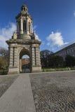 DUBLÍN - 12 DE ENERO: Universidad de la trinidad el 12 de enero de 2015, Dublín Imagen de archivo