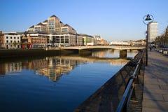 Dublín en el amanecer Foto de archivo